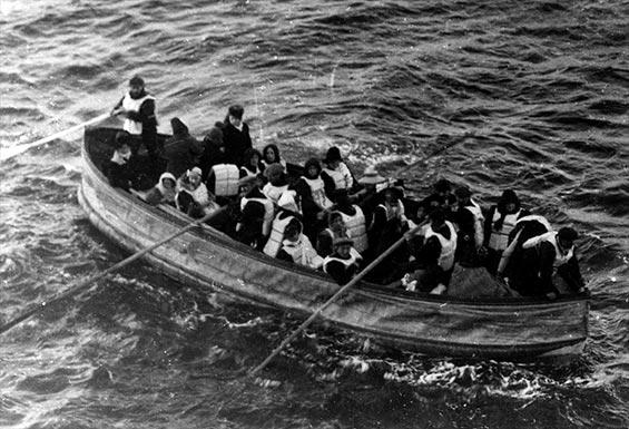 En-af-titanics-redningsbåde