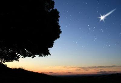 Når du ser et stjerneskud