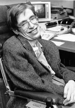 Stephen Hawking ung